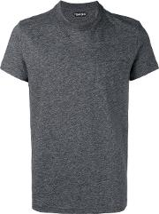 Round Neck T Shirt Men Cotton 50