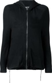 Zipped Cardigan Women Silkacetatecashmere S, Black