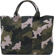 Camouflage Print Tote