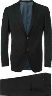 Tonello 'abito' Suit Men Cupromohairwool 46, Black