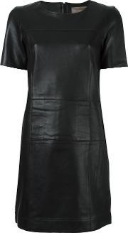 'texas' Dress Women Leather 38, Women's, Black