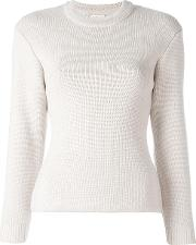 Crew Neck Jumper Women Cottonmerino M, Women's, Nudeneutrals