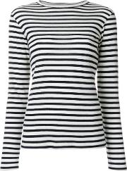 Toteme Striped Knit Jumper Women Wool Xs, White