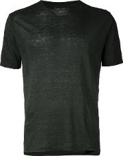 Classic T Shirt Men Linenflax S, Green