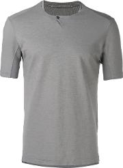 Plain T Shirt Men Cottonlinenflax 50, Grey