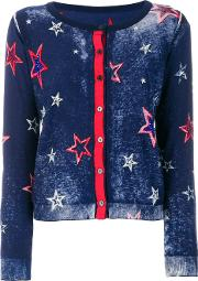 Twin Set Star Embroidered Cardigan