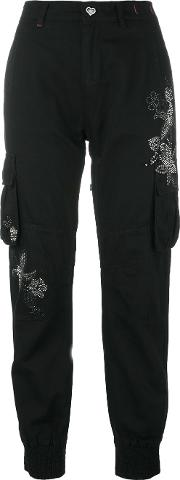 Twin Set Studded Trousers Women Cottonlinenflaxlyocell 31