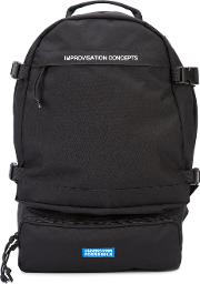 Essential Backpack Men Polyester One Size, Black