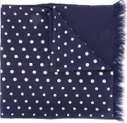Dots Scarf Men Polyesterviscose One Size