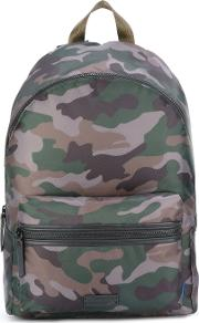 Paul Camouflage Backpack Men Polyester One Size