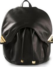'blondie' Backpack Men Leather One Size, Black