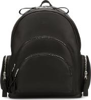 'rockefeller' Backpack Unisex Leather One Size, Black