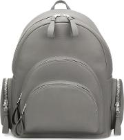 'rockefeller' Backpack Unisex Leathersuede One Size, Grey