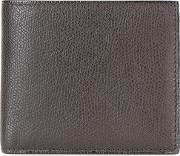 Billfold Wallet Men Calf Leather One Size, Brown