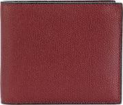 Classic Billfold Wallet Men Leather One Size, Brown
