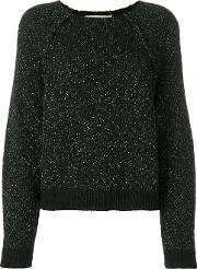 Glitter Detail Knitted Sweater