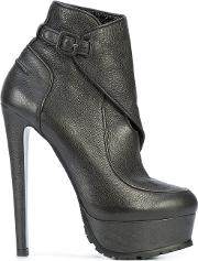 Wrapped Ankle Boots