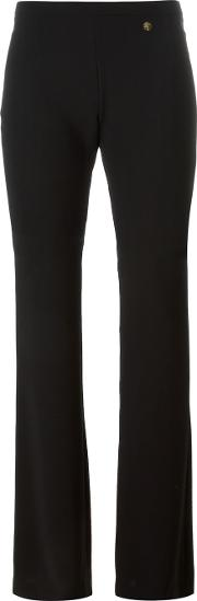 Versace Collection Bootcut Trousers Women Polyesterviscose 42, Black