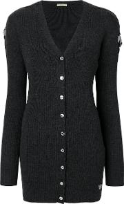Long V Neck Cardigan
