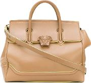 Palazzo Empire Tote Bag Women Calf Leather One Size, Brown