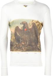 Eagle Print Longsleeved T Shirt