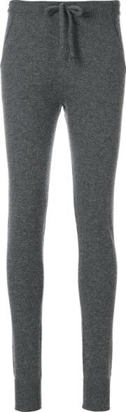 Woolrich Cashmere Track Pants Women Cashmere S, Grey