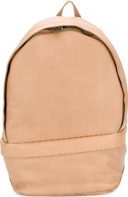 Laced Strap Backpack Men Leather  Nudeneutrals