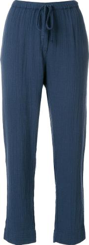 Straight Leg Drawstring Trousers