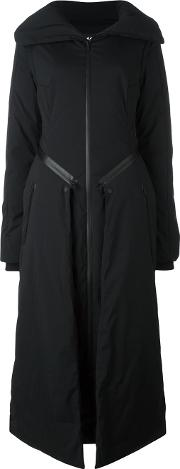 Y 3 Padded Maxi Coat Women Feather Downpolyester Xs, Women's, Black