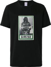 Samizdat T Shirt Men Cotton L, Black