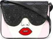 'sleeping Beauty' Crossbody Bag Women Leatherplexiglass One Size