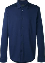 Long Sleeve Shirt Men Cotton Xl, Blue