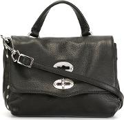 'postina Baby' Crossbody Bag Women Leather One Size, Black