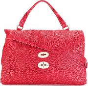 Desert Satchel Women Leather One Size, Red