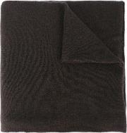 Ribbed Scarf Men Cashmere One Size