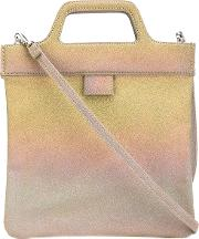Gradient Tote Women Leather One Size