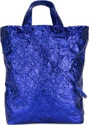 Shopper Tote Women Leather One Size, Blue