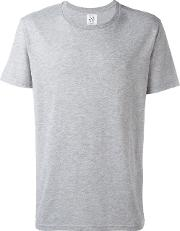Zero Print T Shirt Men Cottonpolyester M, Grey