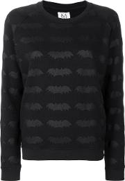 Zoe Karssen Bat Embroidered Sweater Women Cottonpolyester Xs, Black