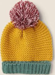 Colour Block Beanie