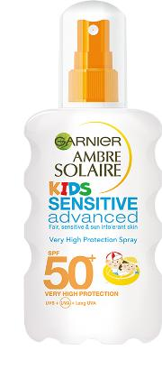 Garnier  Kids Spray Sensitive Advanced Spf50 200ml