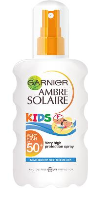 Garnier  Kids Spray Spf50 200ml