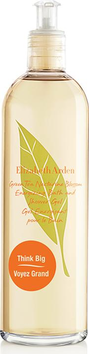 Elizabeth den Green Tea Nectine Blossom Energizing Bath And Shower Gel 500ml