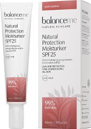 Natural Protection Daily Moisturiser Spf 25 40ml