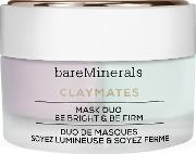 Double Duty Clay Mask Duo Brighten & Firm 58g