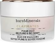 Double Duty Clay Mask Duo Purify & Hydrate 58g