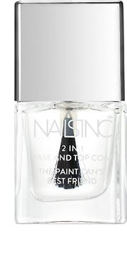 Nailsinc 2 In 1  And Top Coat 5ml Fr