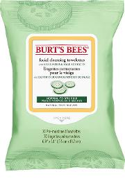 Burt's Bees Facial Cleansing Towelettes Cucumber And Sage X 30