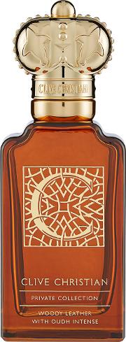 Clive  Private Collection C Woody Leather Masculine 100ml