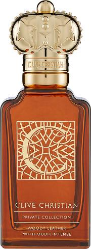Clive  Private Collection C Woody Leather Masculine 50ml